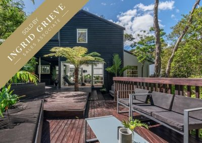 SOLD – 48A Tarawera Terrace, St Heliers